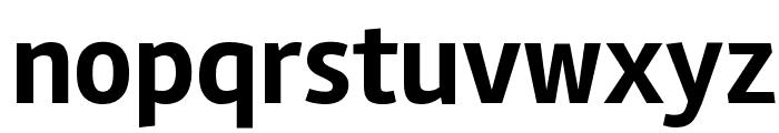 Rambla Bold Font LOWERCASE