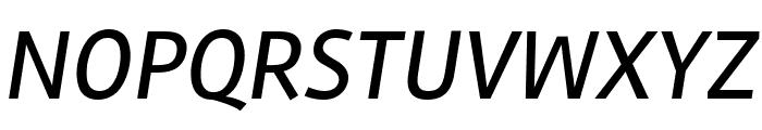 Rambla Italic Font UPPERCASE
