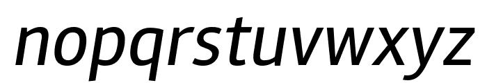 Rambla Italic Font LOWERCASE