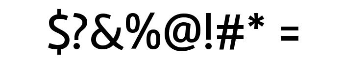 Rambla Font OTHER CHARS