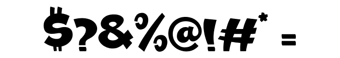 Ramesgo Font OTHER CHARS