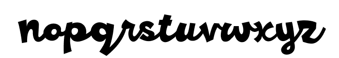 Ramesgo Font LOWERCASE