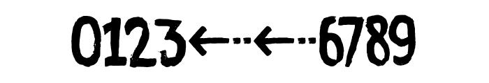 Ramkoers DEMO Regular Font OTHER CHARS