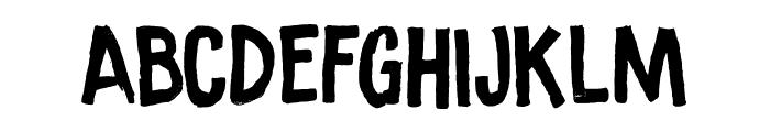 Ramkoers DEMO Regular Font UPPERCASE