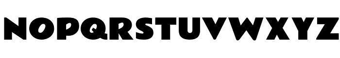 RammettoOne-Regular Font UPPERCASE