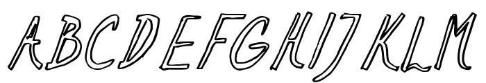 Ramon Italic Font UPPERCASE