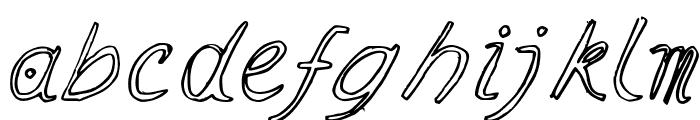 Ramon Italic Font LOWERCASE
