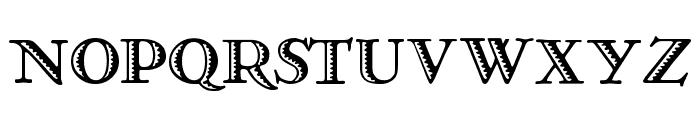 Ramona Regular Font UPPERCASE