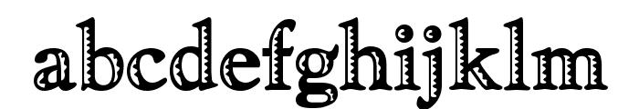 Ramona Regular Font LOWERCASE