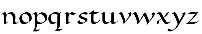 Ramsey Foundational Bold Font LOWERCASE