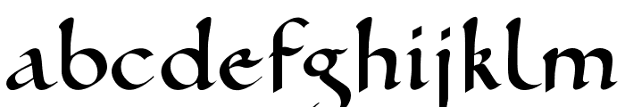 Ramsey SD Font LOWERCASE