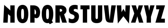 RandallGothicOpti-Bold Font UPPERCASE