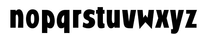 RandallGothicOpti-Bold Font LOWERCASE