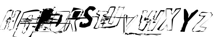 Random Change in Mood Font UPPERCASE