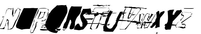Random Change in Mood Font LOWERCASE