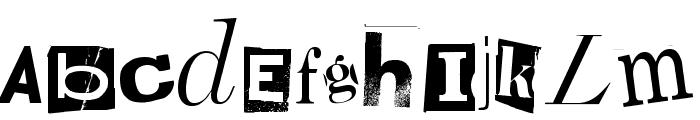 Random House Font LOWERCASE