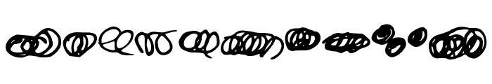 Random Swirls Font OTHER CHARS