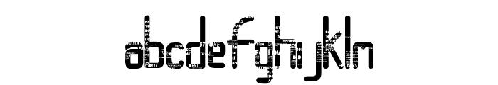 RandomAccessMemory Font LOWERCASE