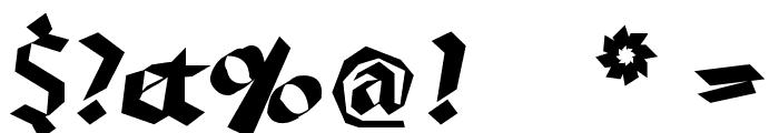 RandomFrax Font OTHER CHARS