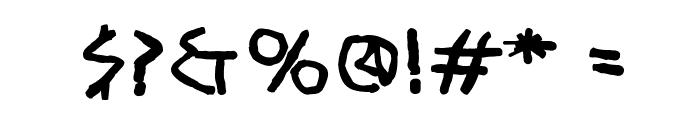 RandomUnciale-Bold Font OTHER CHARS