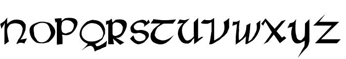 Rane Insular Font UPPERCASE