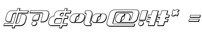 Range Paladin Outline Outline Font OTHER CHARS