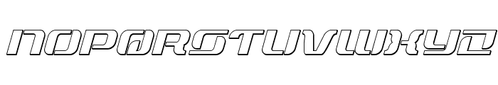 Range Paladin Outline Outline Font LOWERCASE