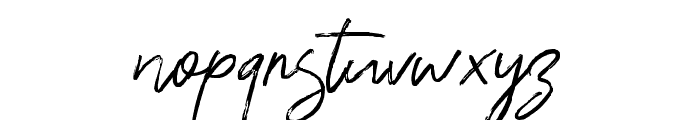 Ranget Font LOWERCASE