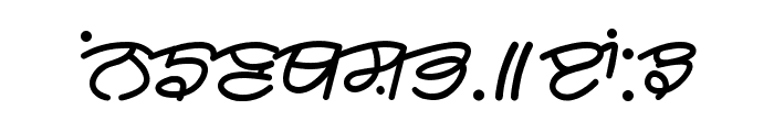 Rangsaaz cursive rimington Font UPPERCASE