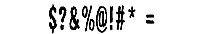 Raparperitaivas Font OTHER CHARS