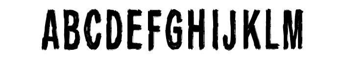 Raparperitaivas Font UPPERCASE