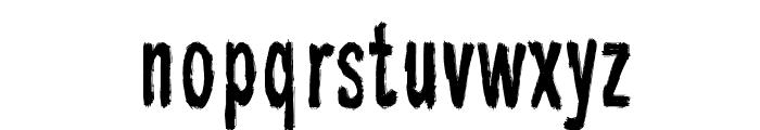 Raparperitaivas Font LOWERCASE