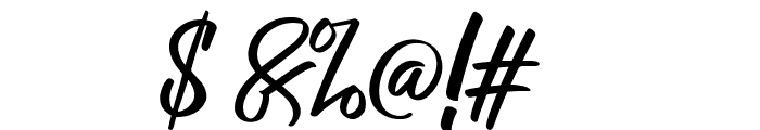 RaphLanokFuture Font OTHER CHARS
