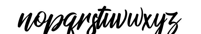 RaphLanokFuture Font LOWERCASE