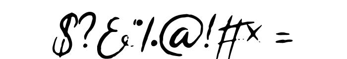 Rapha Talia Font OTHER CHARS