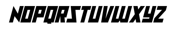Raptors Italic Font UPPERCASE