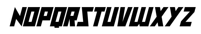 Raptors Italic Font LOWERCASE