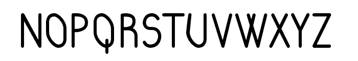 RaraDolor-Bold Font UPPERCASE