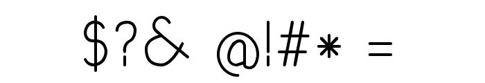 RaraDolor Font OTHER CHARS