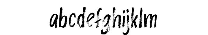 Rashford Font LOWERCASE