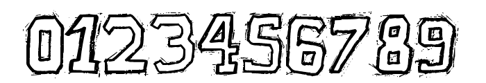Raslani American letters Bold Font OTHER CHARS