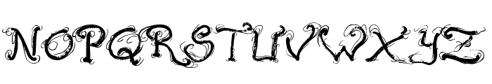 Raslani Ancient Script Font UPPERCASE