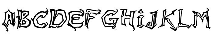 Raslani Messenger Font UPPERCASE