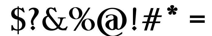 Raslani Undaground Bold Font OTHER CHARS