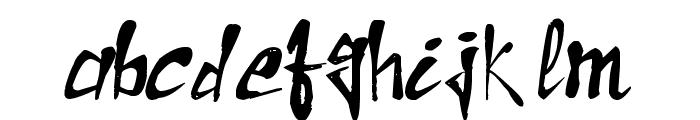Raslani the Pharaoh Font LOWERCASE