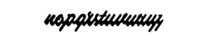 Raspberry Script PERSONAL USE Font LOWERCASE