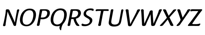 Raspoutine Classic Italic Font UPPERCASE