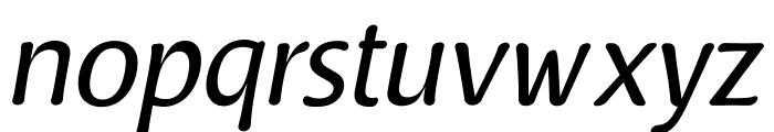 Raspoutine Classic Italic Font LOWERCASE