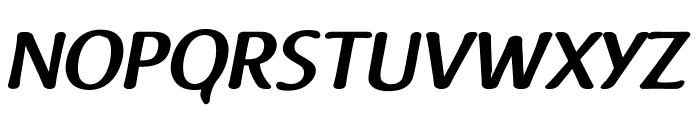 Raspoutine DemiBold Italic Font UPPERCASE