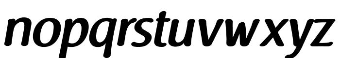 Raspoutine DemiBold Italic Font LOWERCASE